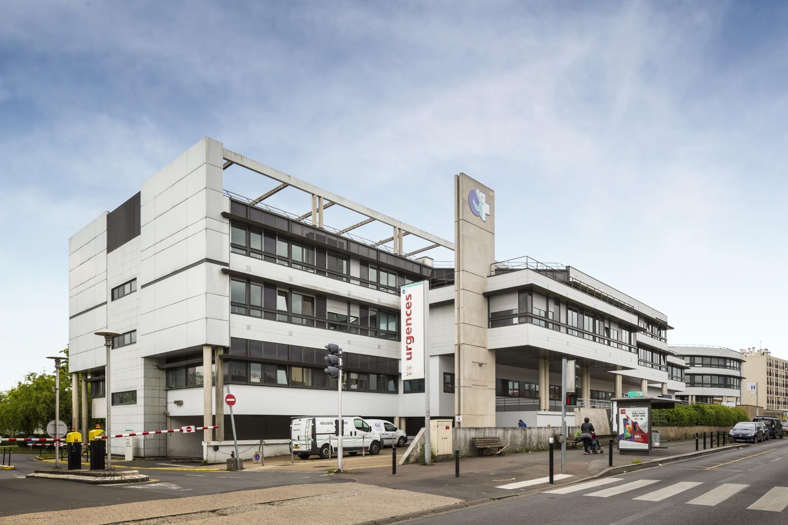 Michel Beauvais Associés  MBA  Montreuil sous bois  ~ Hopital De Montreuil Sous Bois